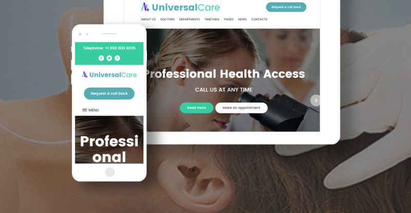 UniversalCare - Medical Center Responsive WordPress Theme - Features Image 30
