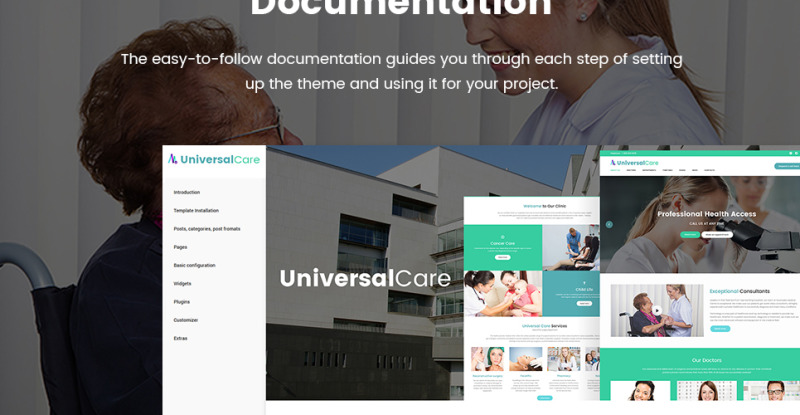 UniversalCare - Medical Center Responsive WordPress Theme - Features Image 38