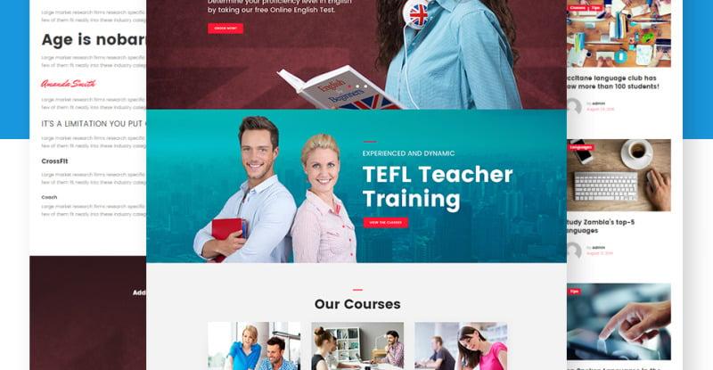 Spello - Language School WordPress Theme - Features Image 10