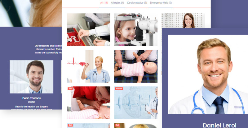Private Family Doctor WordPress Theme - Features Image 7