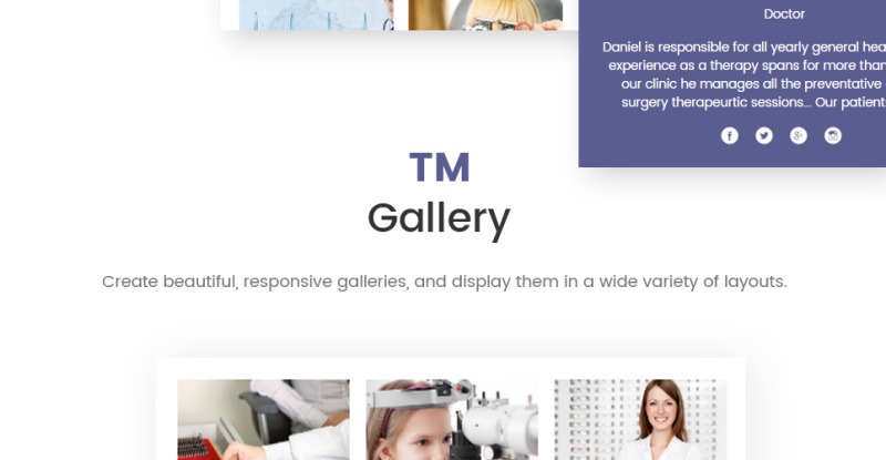 Private Family Doctor WordPress Theme - Features Image 8
