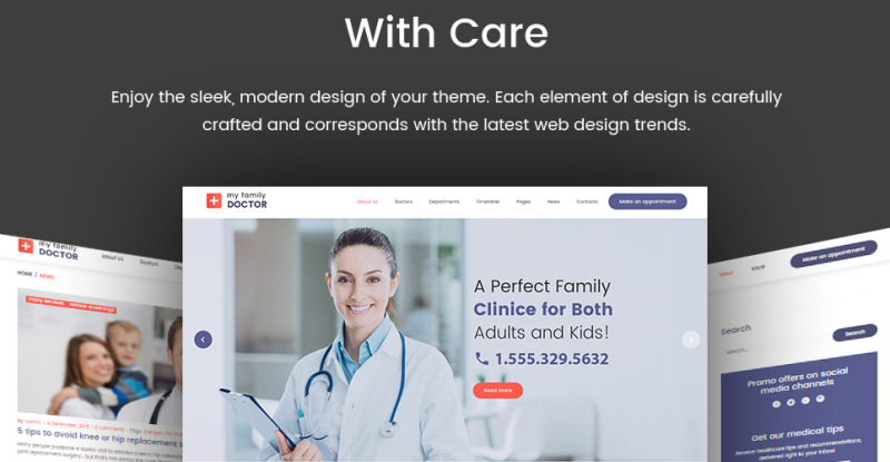Private Family Doctor WordPress Theme - Features Image 23
