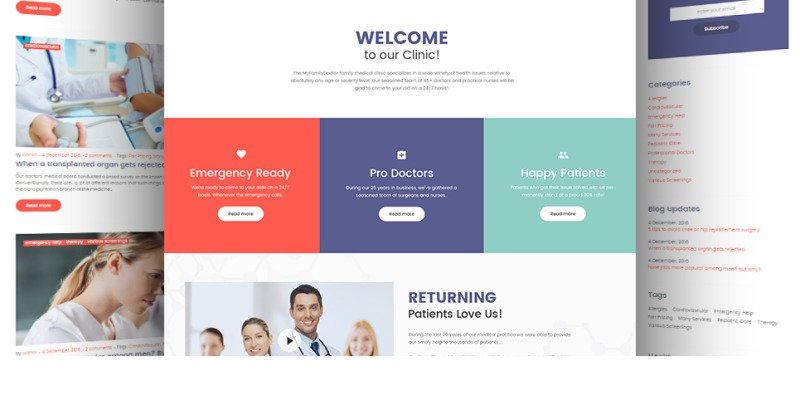 Private Family Doctor WordPress Theme - Features Image 24