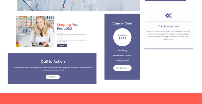 Private Family Doctor WordPress Theme - Features Image 26