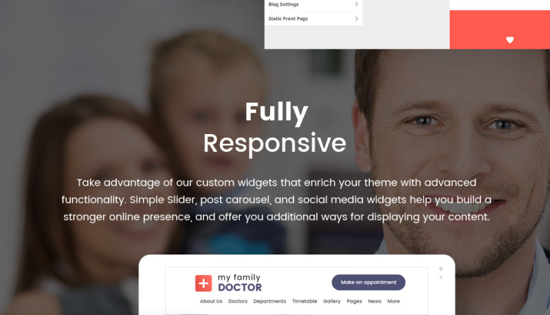 Private Family Doctor WordPress Theme - Features Image 29