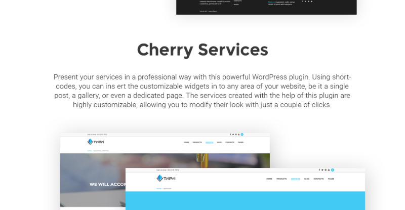 3D Printing Services WordPress Theme - Features Image 5
