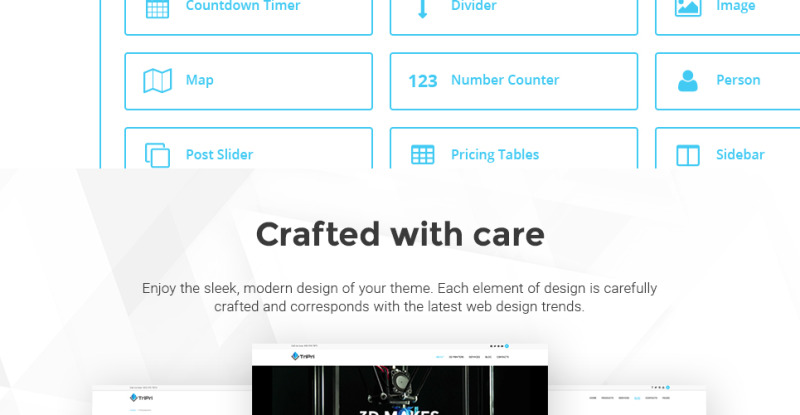 3D Printing Services WordPress Theme - Features Image 12