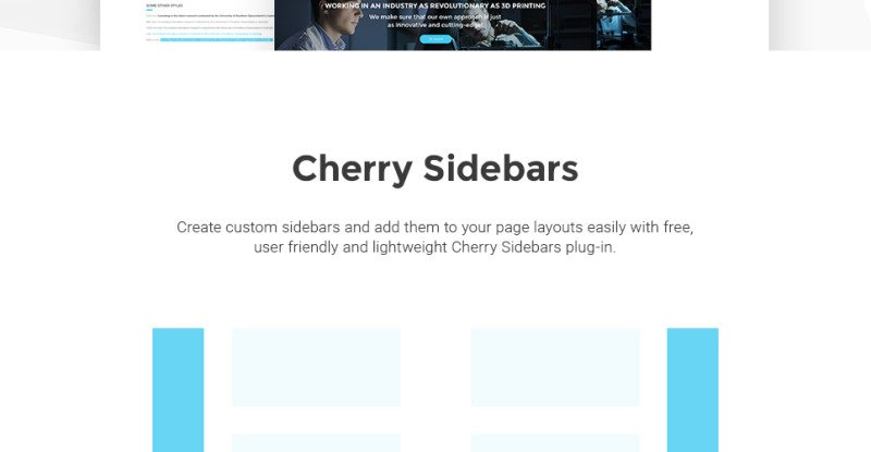 3D Printing Services WordPress Theme - Features Image 14