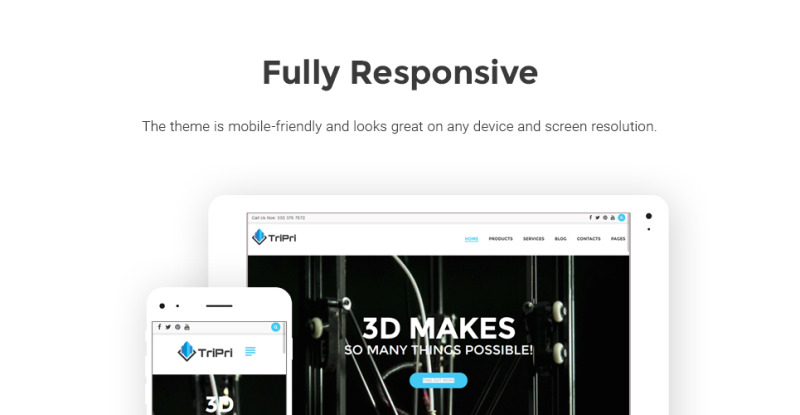 3D Printing Services WordPress Theme - Features Image 20