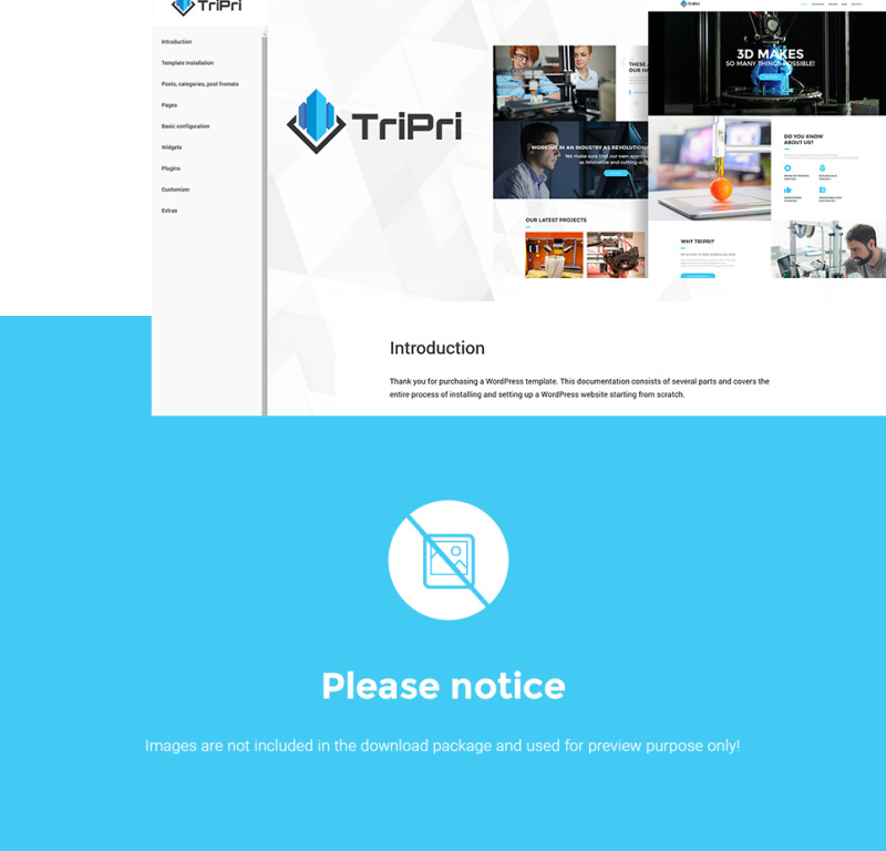 3D Printing Services WordPress Theme - Features Image 28