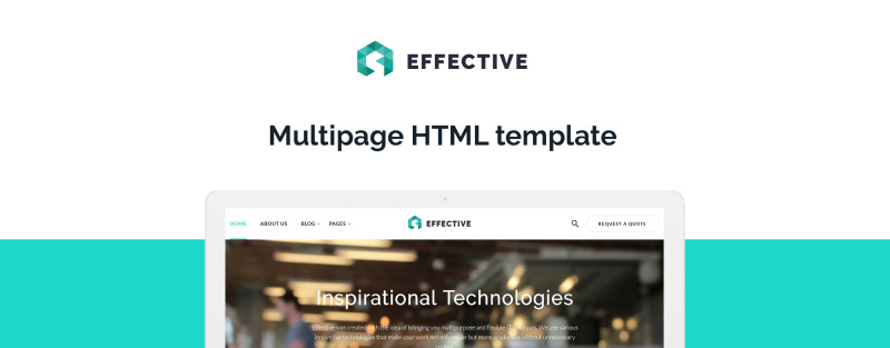 Effective - Development & Consulting Agency Website Template - Features Image 1