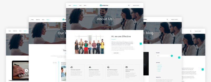Effective - Development & Consulting Agency Website Template - Features Image 5
