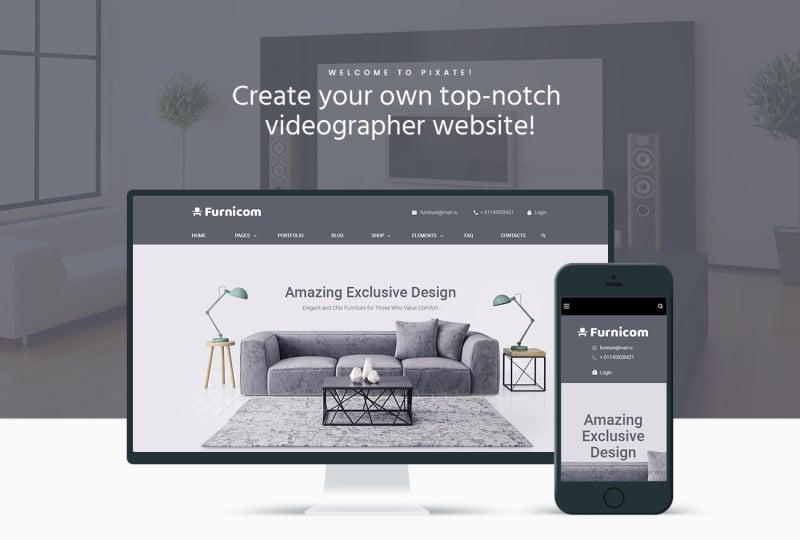 Furnicom - Furniture Store WordPress Theme - Features Image 1