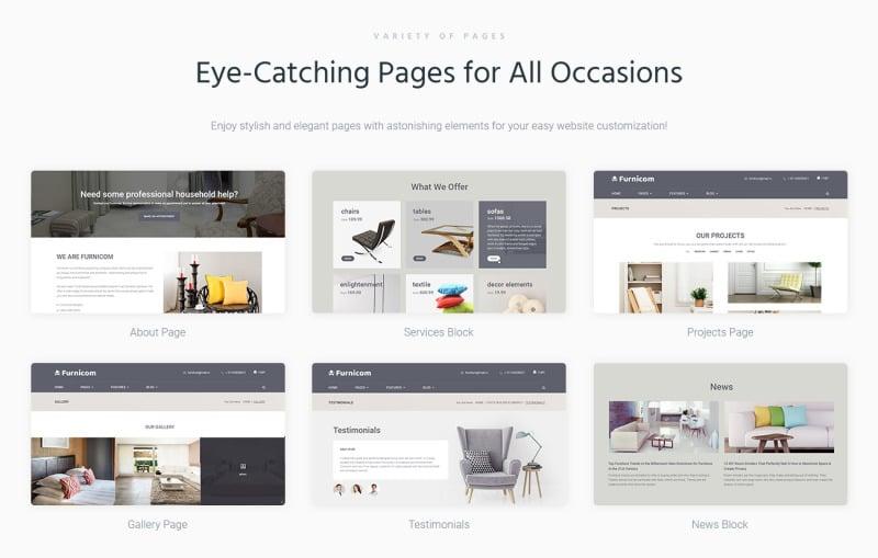 Furnicom - Furniture Store WordPress Theme - Features Image 2