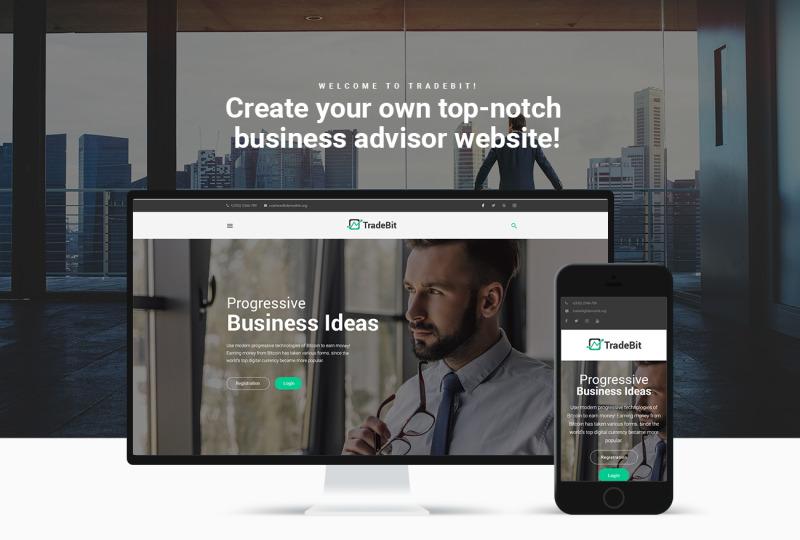 One Login Business – WordPress tema | orosvente.lt Lithuania