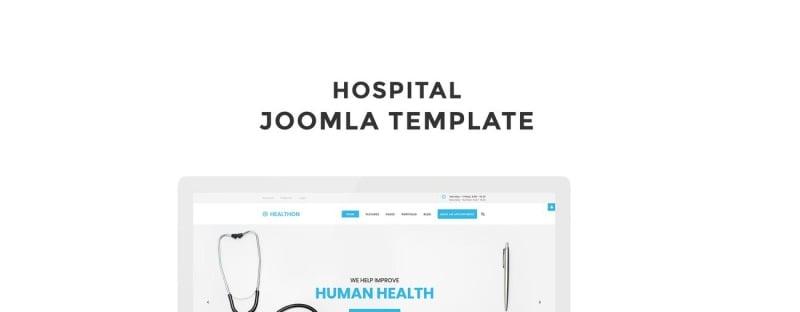 Healthon - Hospital Clean Joomla Template - Features Image 1