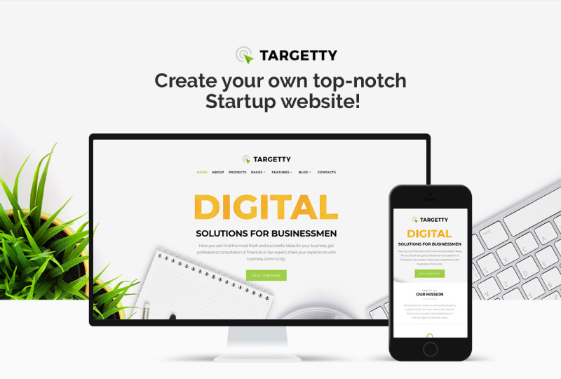Targetty - Fancy Advertising Agency Elementor WordPress Theme - Features Image 1