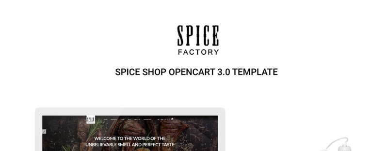 Spice Factory Responsive OpenCart Template - Features Image 1