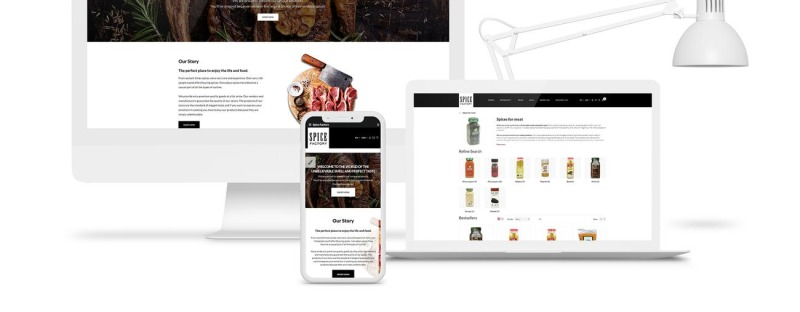 Spice Factory Responsive OpenCart Template - Features Image 2