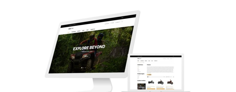 Bikentor - Extreme Motorcycle Online Store Shopify Theme - Features Image 1