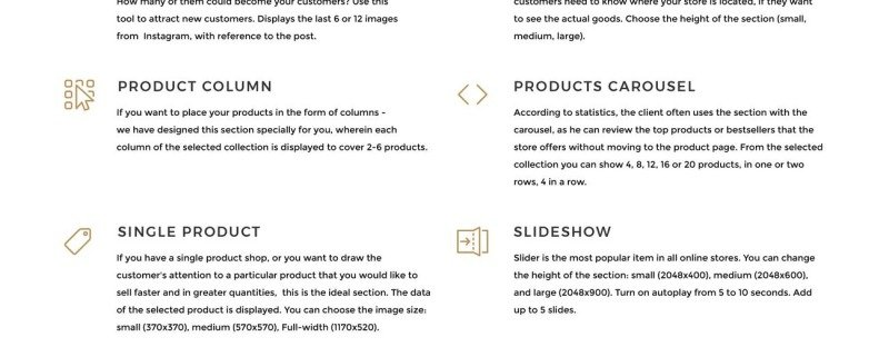 Bikentor - Extreme Motorcycle Online Store Shopify Theme - Features Image 9
