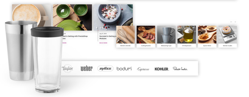 Glass and Cloth - Dishes Store PrestaShop Theme - Features Image 8