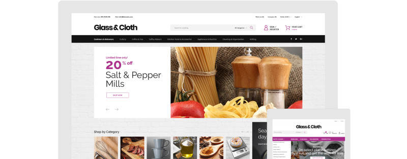 Glass and Cloth - Dishes Store PrestaShop Theme - Features Image 13