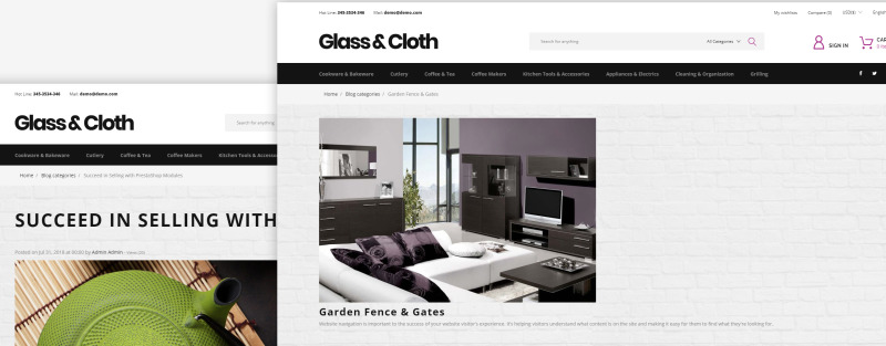 Glass and Cloth - Dishes Store PrestaShop Theme - Features Image 20