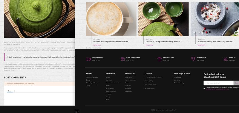 Glass and Cloth - Dishes Store PrestaShop Theme - Features Image 21