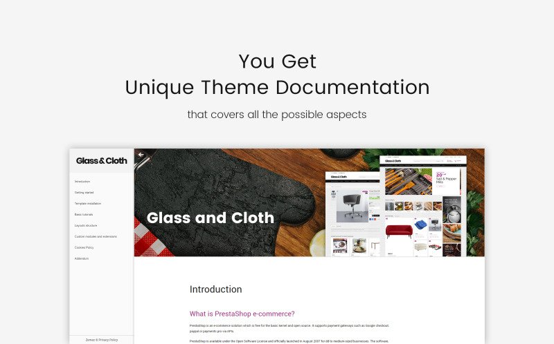 Glass and Cloth - Dishes Store PrestaShop Theme - Features Image 22