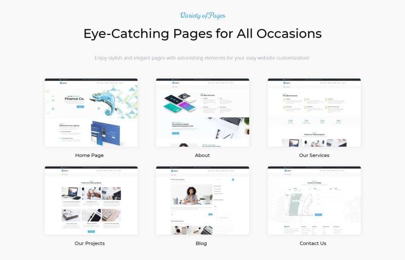 Azzury - Creative Business WordPress Elementor Theme - Features Image 2