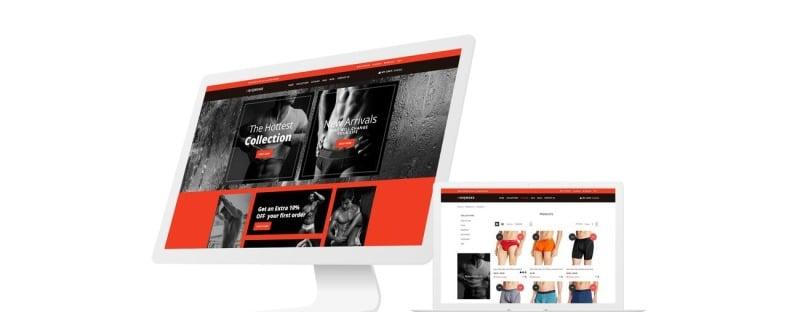 Underwear Lingerie Stores Shopify 5 Themes Bundle