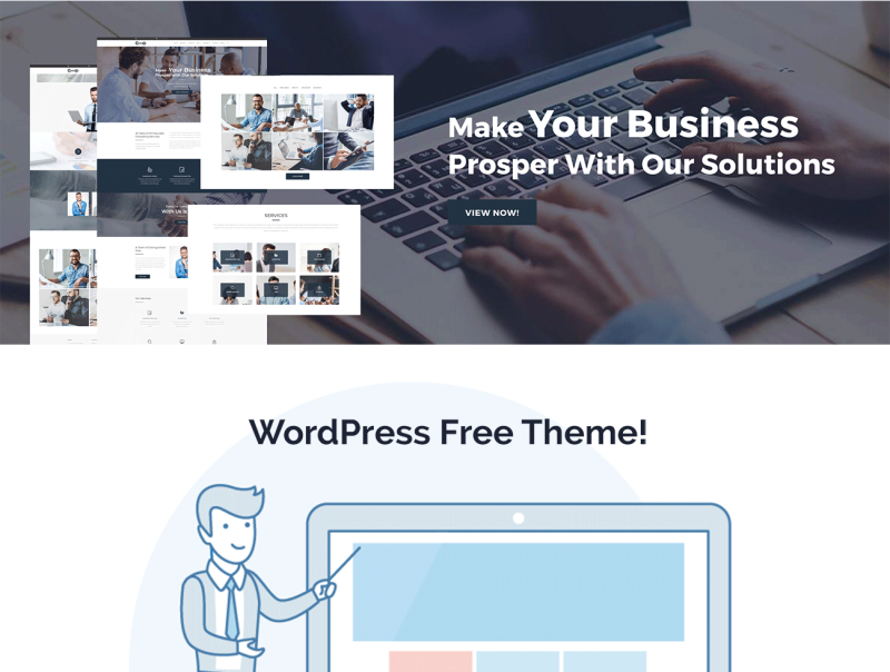 Consor lite - Business Consulting Elementor WordPress Theme - Features Image 1