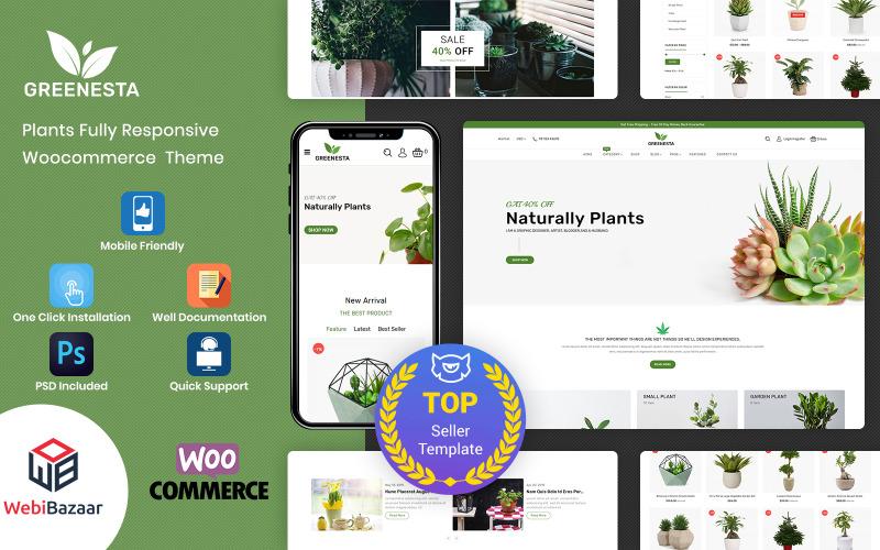 Greenesta Organic - WooCommerce-thema voor eten en kruidenierswinkel
