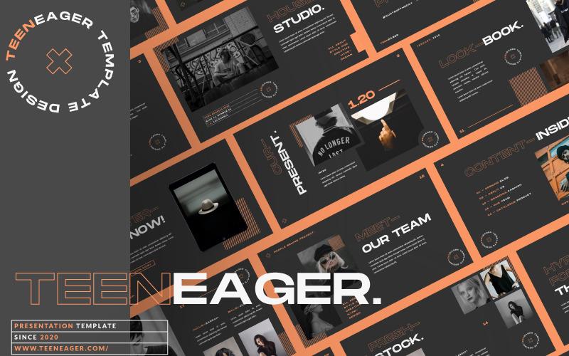 Prezentace TEENEAGER - Šablona Keynote