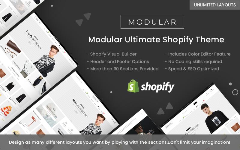 Modulaire - Thème Shopify polyvalent
