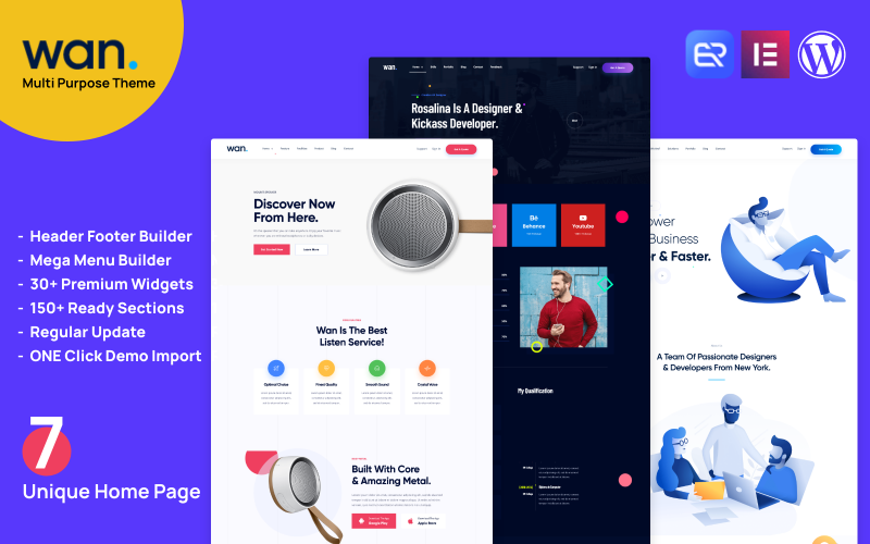 Wan - IT Solution And Technology Services WordPress Theme