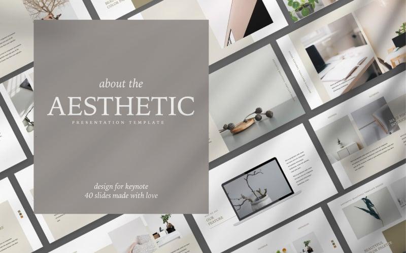 Aesthetic Presentation - Keynote template