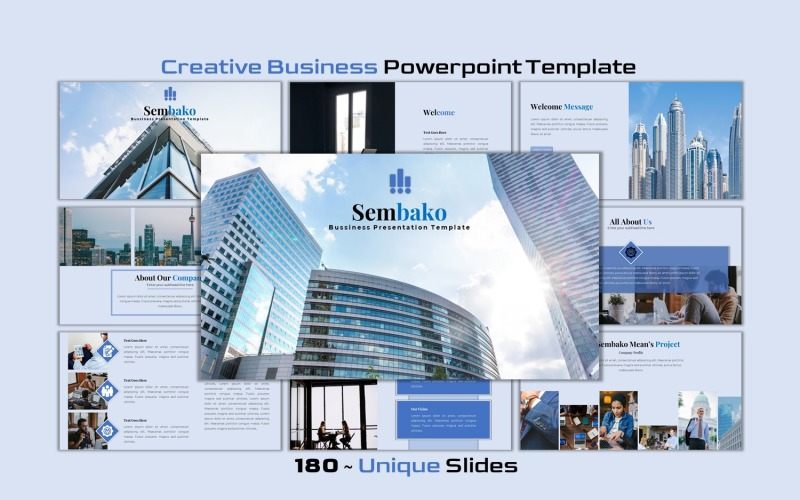 Sembako - Creative Business PowerPoint template