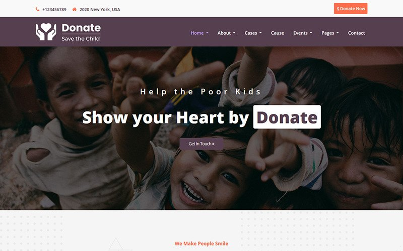 Donate - Charity HTML5 Template