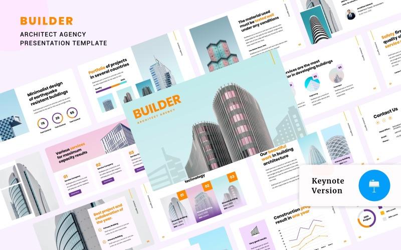BUILDER - Architect Agency Presentation - Keynote template
