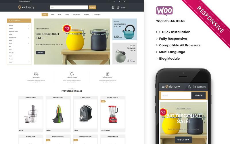 Kicheny - Das WooCommerce-Thema für Küchengeräte