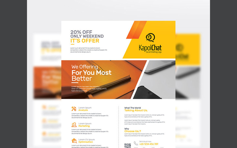 The Business Flyer - Corporate Identity Template