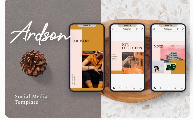 Шаблон социальной сети Ardson
