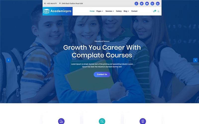 academicpro Website Template