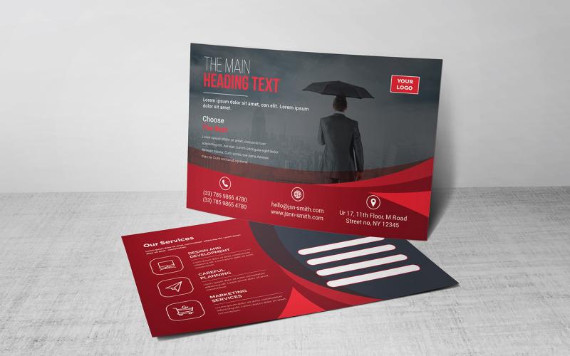 Modern Postcard - Corporate Identity Template