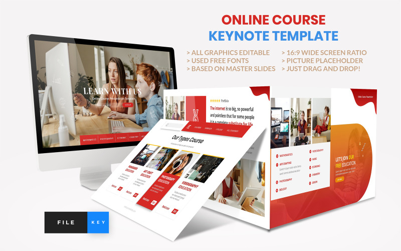 Online Course - Education - Keynote template