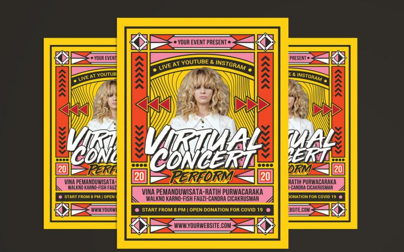 Virtual Music Concert - Corporate Identity Template