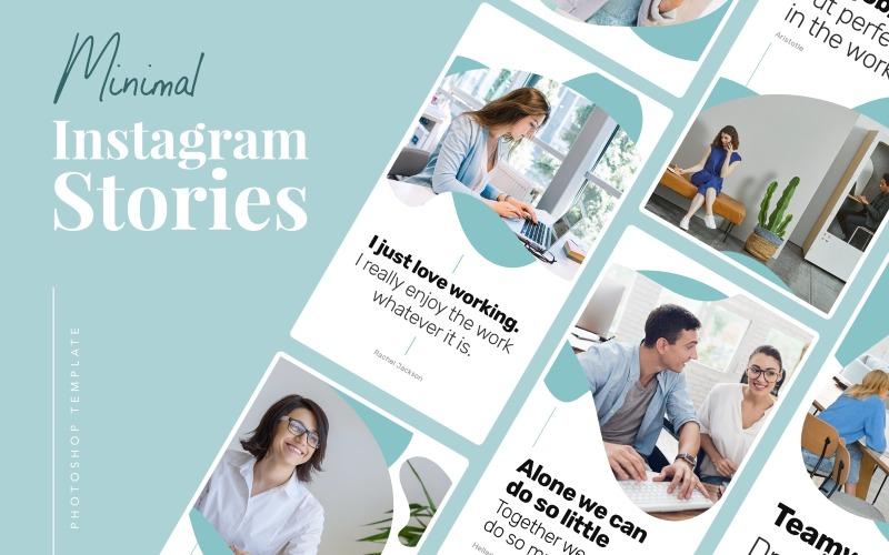 Minimal Instagram Stories Template for Social Media