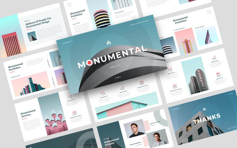 Monumental - Creative - Keynote template